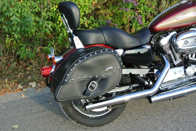 2009 Harley Davidson XL 1200 Custom Motorcycle #3163