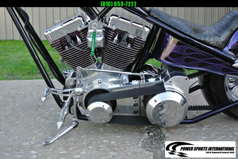 Voodoo Custom Chopper 100 CI Delkron V-Twin Motorcycle