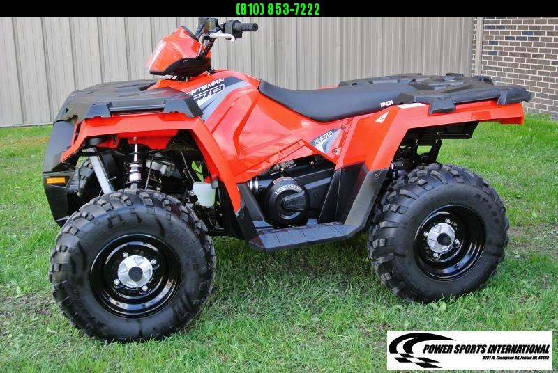 2017 POLARIS SPORTSMAN 570 EFI EPS 4X4 ATV #8605