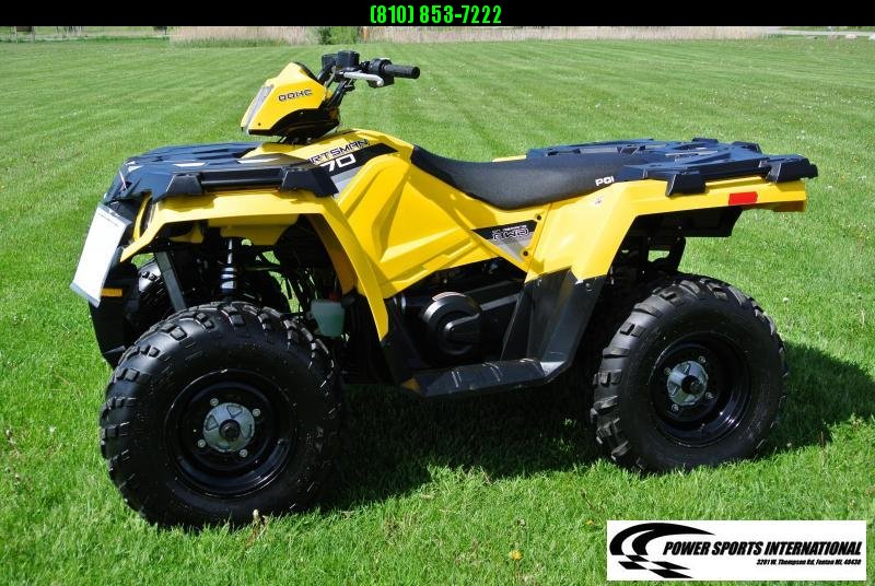 2016 POLARIS SPORTSMAN 570 EFI 4X4 ATV #1983