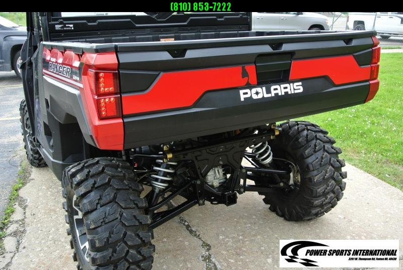 2018 POLARIS RANGER XP 1000 EPS Red Metallic Edition #8581