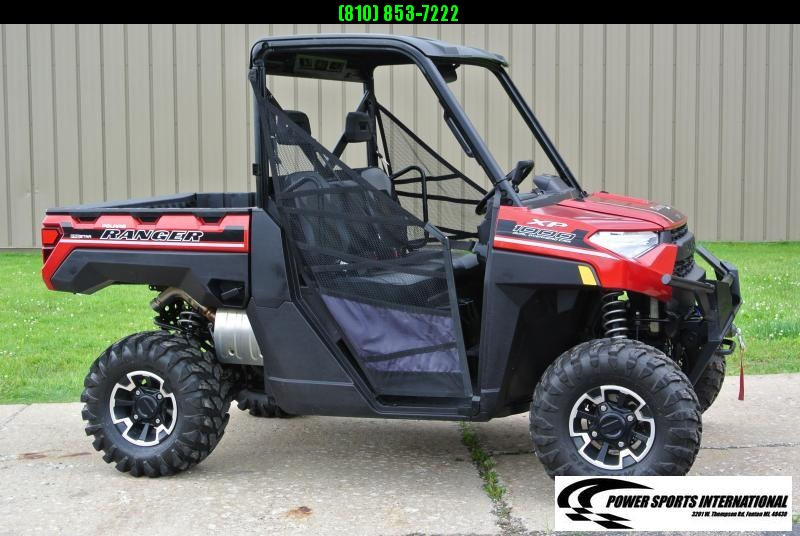 2018 POLARIS RANGER XP 1000 EPS Red Metallic Edition #8581
