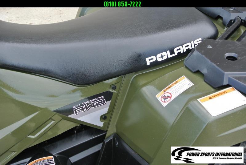 2014 POLARIS SPORTSMAN 570 EFI EPS HUNTER GREEN 4X4 ATV #6344