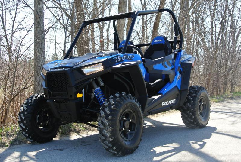 2017 POLARIS RZR S 900 (ELECTRIC POWER STEERING) BLUE #6425