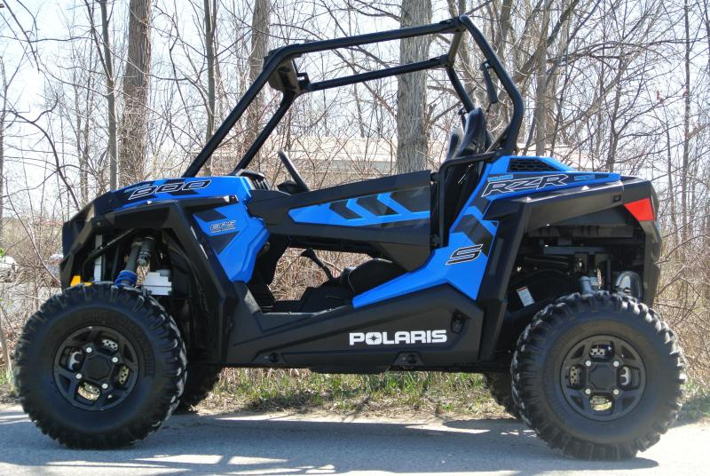 2017 POLARIS RZR S 900 (ELECTRIC POWER STEERING) BLUE #6425