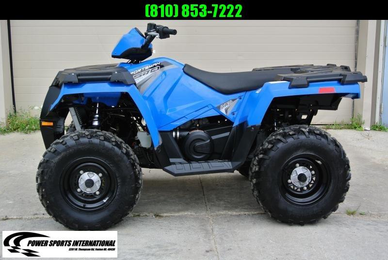 2017 POLARIS SPORTSMAN 570 EFI VELOCITY BLUE 4X4 ATV #9955