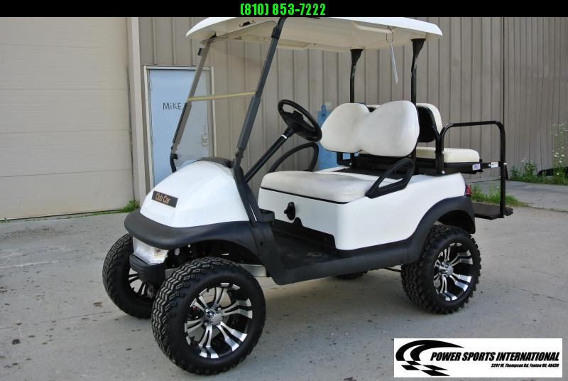 2012 CLUB CAR PRECEDENT Gas Cart w/ ALPHA body and thousands in extras. #1701