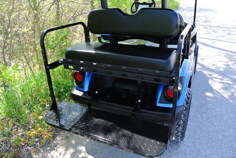 2013 Custom Yamaha Drive Gas Golf Cart Metallic Blue #1231
