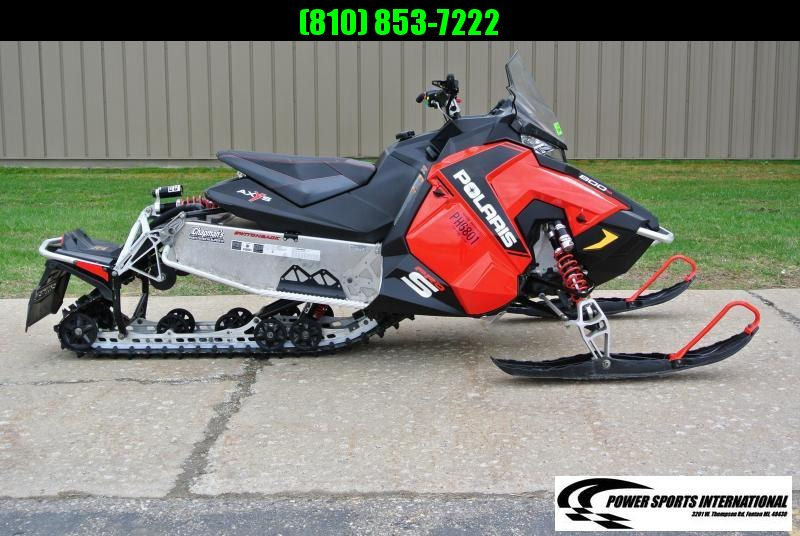 "2015 Polaris 800 Switchback PRO S 137"" Snowmobile #5840"