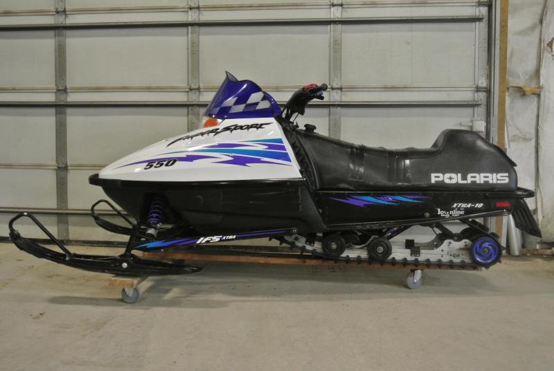 1999 Polaris Indy Super Sport 550 Snowmobile