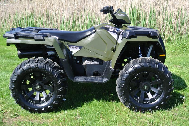 2016 POLARIS SPORTSMAN 570 (ELECTRIC FUEL INJECTION) #0558