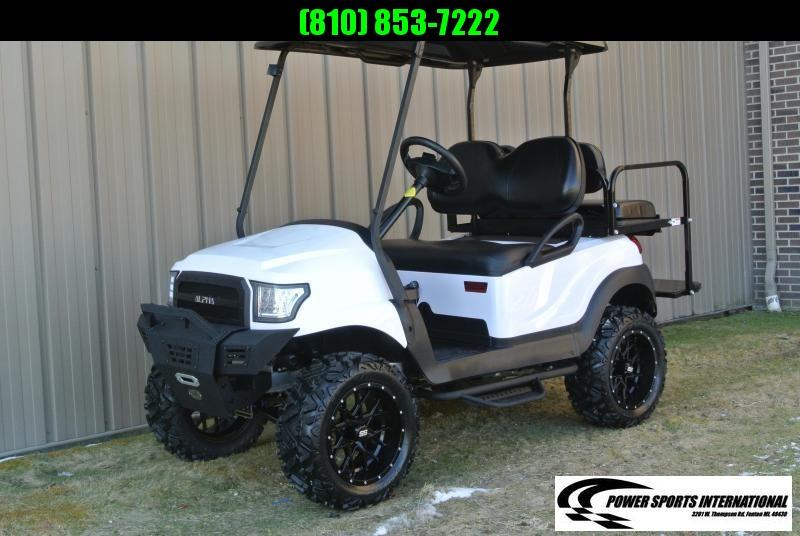 2013 Club Car gas w/ ALPHA body and thousands in extras. #8004