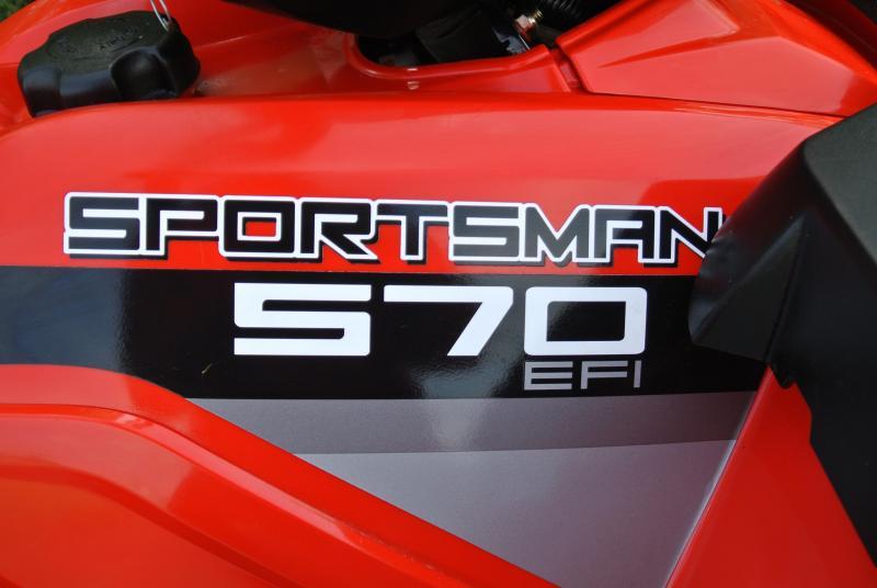 2015 POLARIS SPORTSMAN 570 (ELECTRIC FUEL INJECTION) #4394