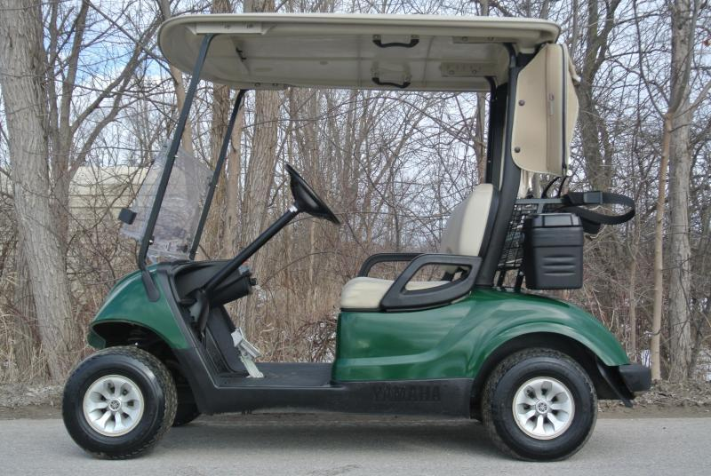 2014 Yamaha Drive 48V Electric Golf Cart w/ Extras #8954