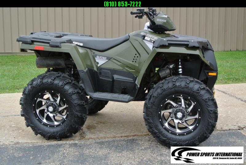 2014 POLARIS SPORTSMAN 570 EFI HUNTER GREEN 4X4 ATV #7243