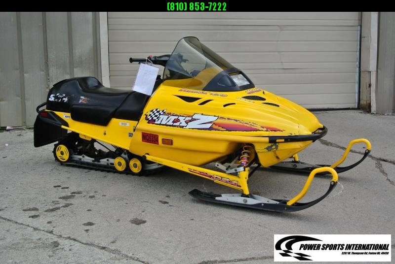 1998 Ski-Doo MXZ 670 Snowmobile 3400 miles  #0889