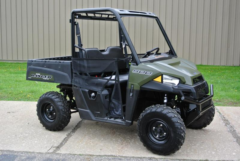 2019 POLARIS RANGER 500 HUNTER GREEN SIDE BY SIDE #2962