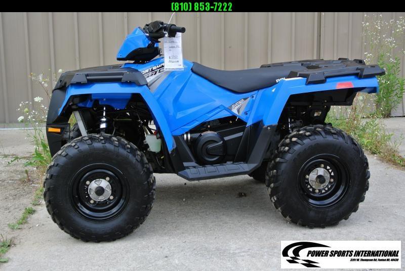 2017 POLARIS SPORTSMAN 570 EFI METALLIC BLUE 4X4 ATV #5203