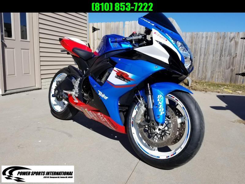 2011 SUZUKI GSX-R600L4 Sport Bike Motorcycle #2115