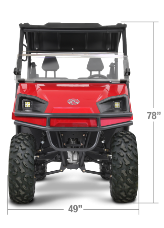 2018 American Land Master LS677 EFI EPS WHITE Utility Side-by-Side (UTV)