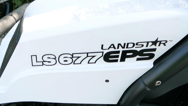 2018 American LandMaster LS677 EFI EPS WHITE RANGER Utility Side-by-Side #0215