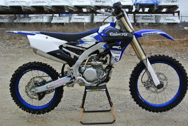 2018 Yamaha YZ250F Motorcycle MX Motocross Team Edition #8887