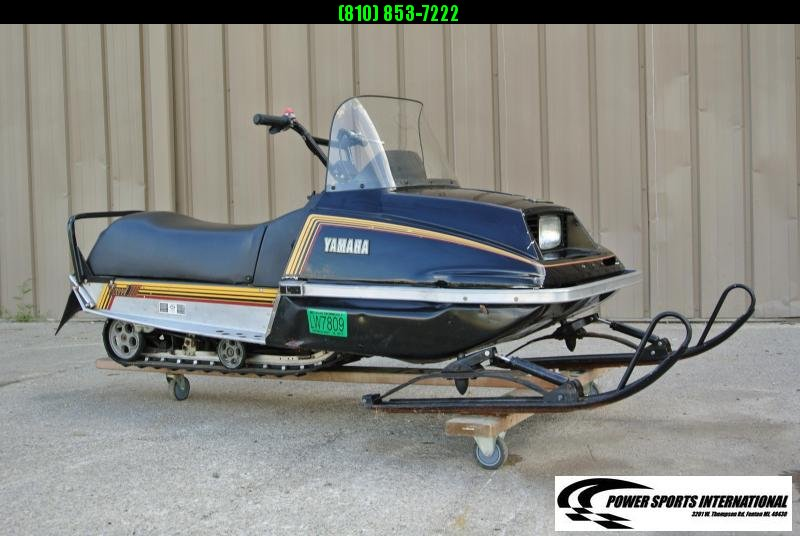 1983 Yamaha EXCELL III 340cc Electric Start Snowmobile #6127