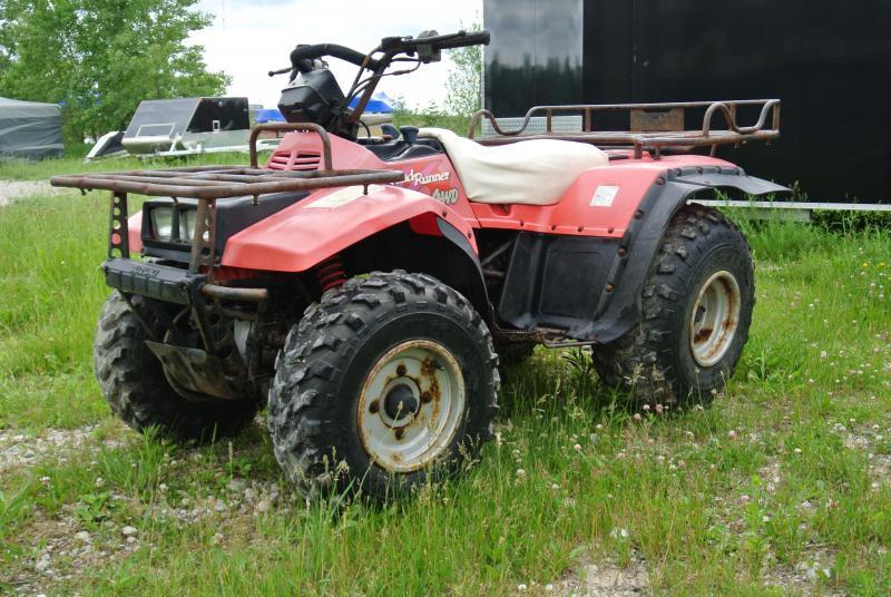 1992 SUZUKI Quad Runner 4WD 4X4 Utility ATV