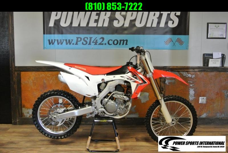 2014 Honda CRF 250 R 4 stroke Motocross Dirt-bike #2358
