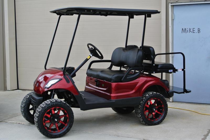 2013 Custom Yamaha Drive Gas Golf Cart #1298
