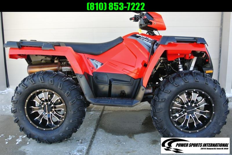 2018 POLARIS SPORTSMAN 570 RED 4X4 #7435