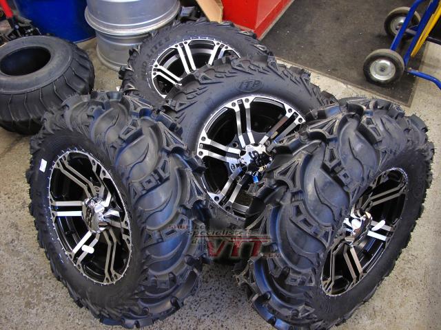2018 ITP MUD LITE II ATV TIRE SET (Includes 4 new ATV Tires)