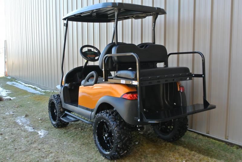 2014 Club Car gas w/Custom Painted body and thousands in extras. #6714