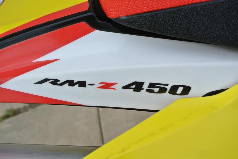 2014 Suzuki RMZ 450 4-Stroke MX Motocross Motorcycle #2011
