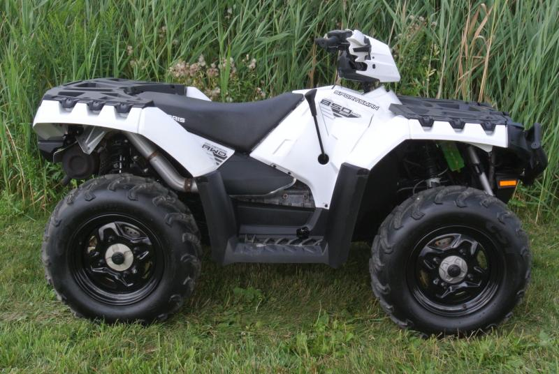 2016 POLARIS SPORTSMAN 850 ATV 4X4 with Hand Guards #3963