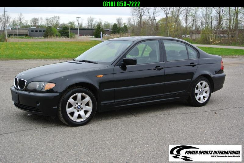 2005 BMW 325Xi 4 Door Sedan Black   Automatic #5705