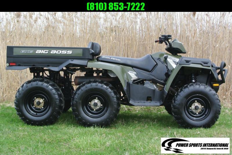 2013 POLARIS SPORTSMAN 800 6X6 BBOSS Ultimate ATV #0080