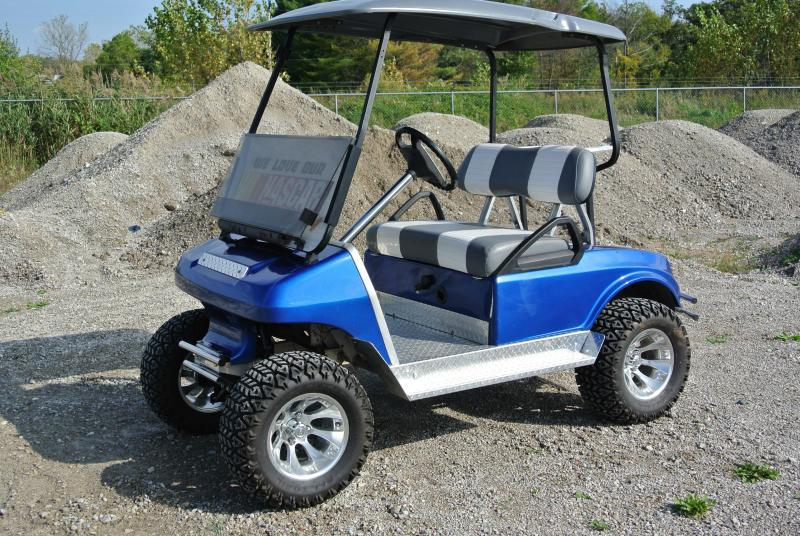 1992 Club Car Custom Lifted 36V Electric Golf Cart
