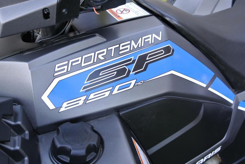 2017 POLARIS SPORTSMAN 850 SP SILVER METALLIC #6704
