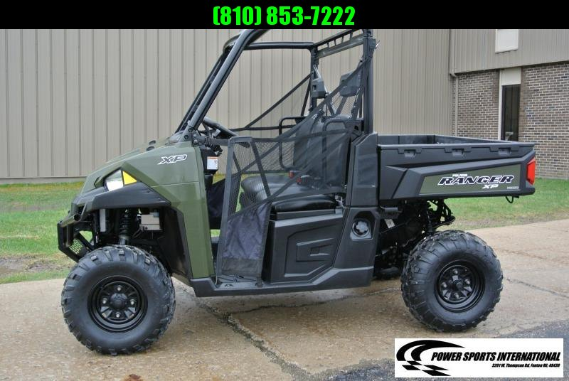2018 POLARIS RANGER XP 900 HUNTER GREEN #7919