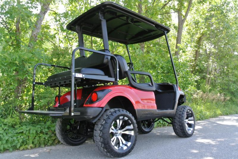 2013 Yamaha Drive 48V Electric Golf Cart w/ Thousands in Extras #4833