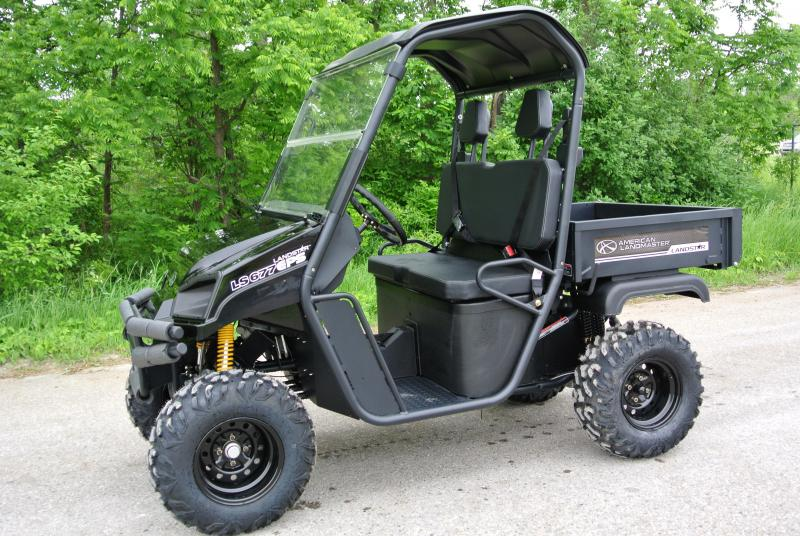2018 American Land Master LS677 EFI EPS Gloss Black Utility Side-by-Side (UTV)