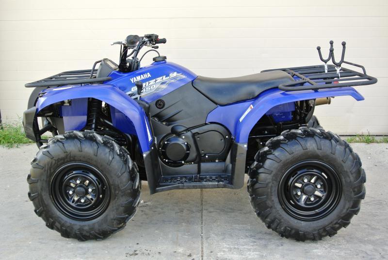2014 YAMAHA YFM450DEL GRIZZLY 4WD BLUE #5700