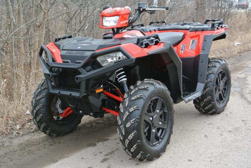 2018 POLARIS SPORTSMAN XP 1000 XP RED EDITION #1515