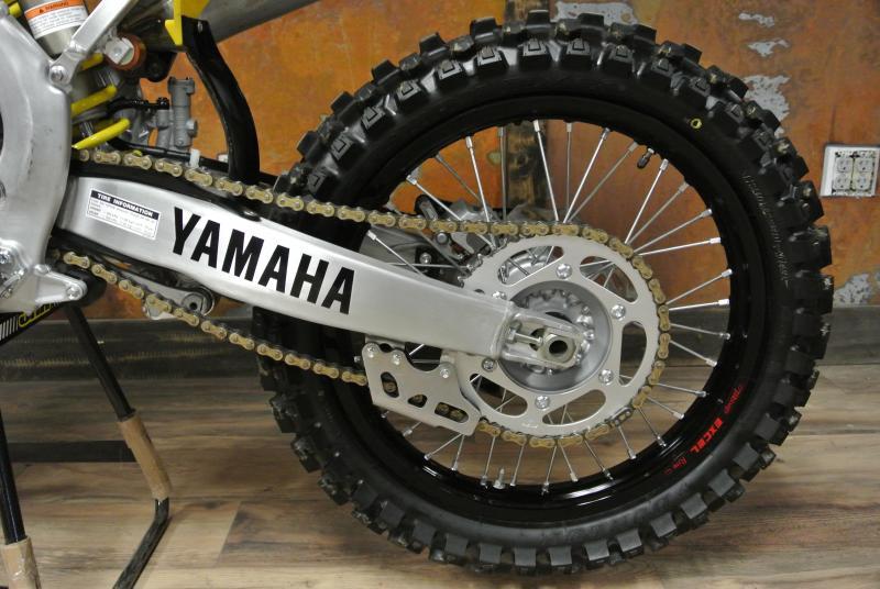 2016 Yamaha YZ450F 60th Anniversary Motorcycle MX #4985