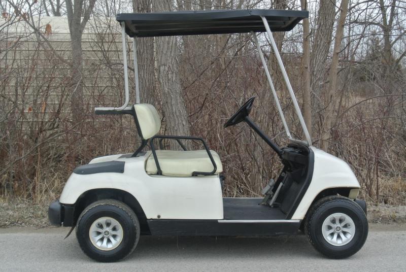 1999 Yamaha G16 GAS Golf Cart w/ Extras #3630