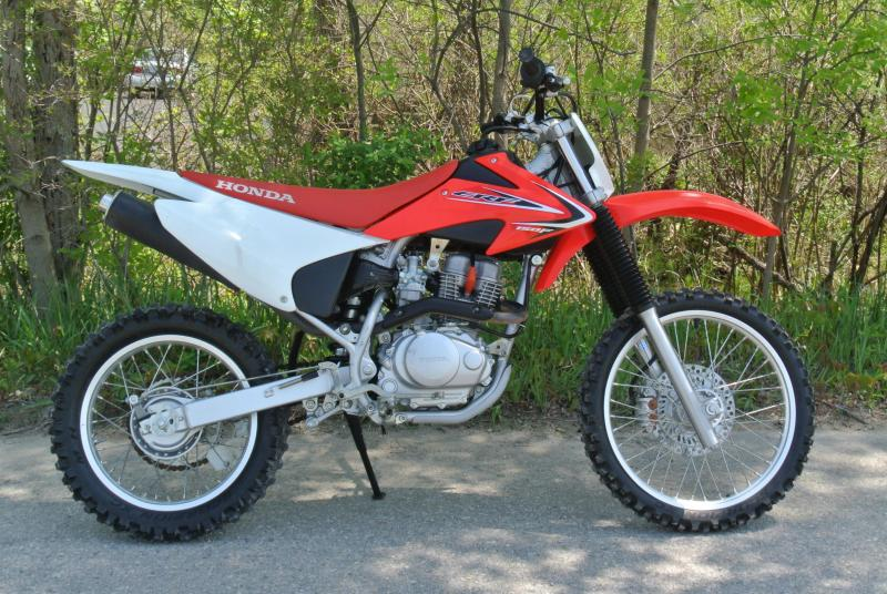 2012 Honda CRF 150F Off Road Motorcycle #0362
