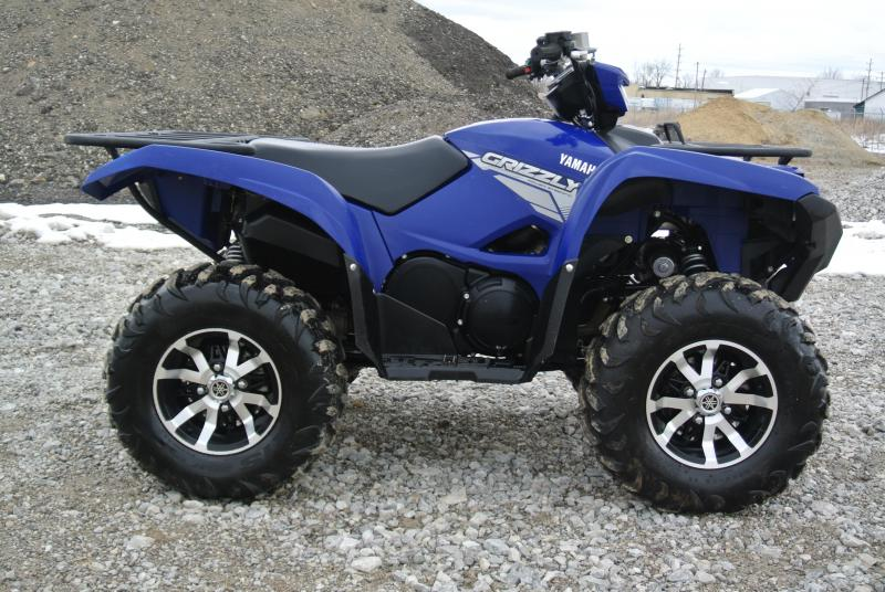 2017 YAMAHA YFM70GPAH GRIZZLY EPS 4WD TEAM YAMAHA BLUE #3570