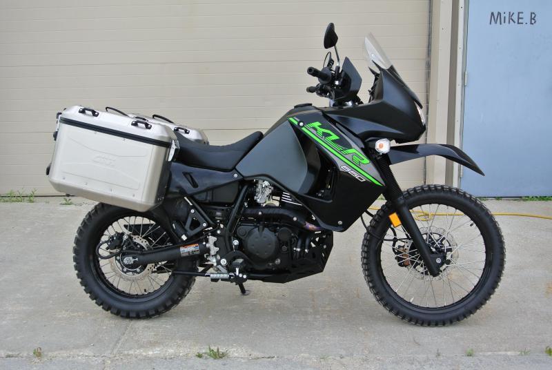 2017 Kawasaki KLR 650 KL650EHF Dual Sport Motorcycle  #0831