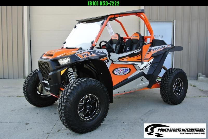 2018 POALRIS RZR XP TURBO (ELECTRIC POWER STEERING) ORANGE #8028